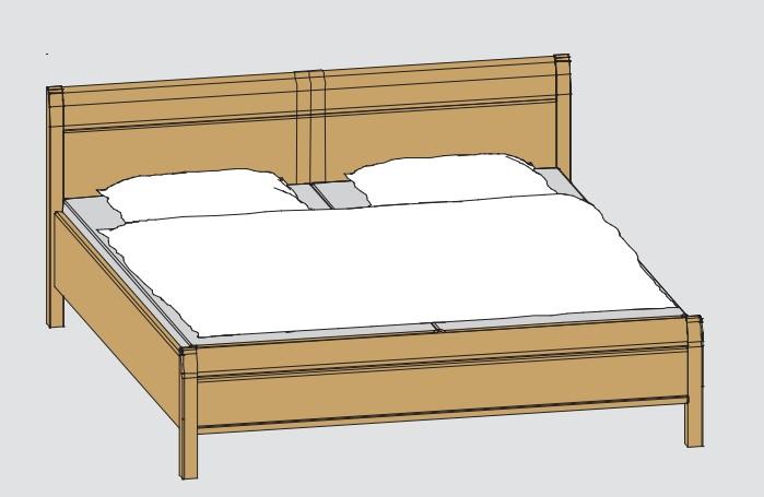 Disselkamp Comfort Twin Betten