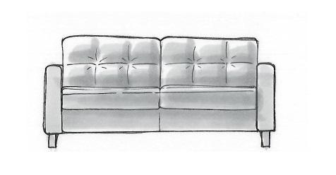Habufa Sofas Albury 2-Sitzer