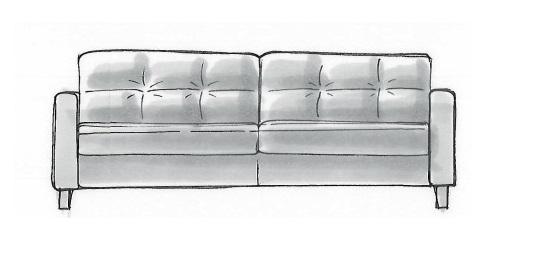 Habufa Sofas Albury 3-Sitzer