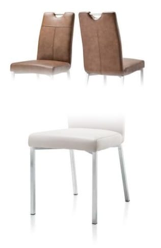 Habufa Stühle Leon Stuhl 4 Füße