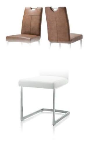 Habufa Stühle Leon Stuhl Freischwinger rechteckig