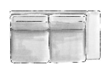 Habufa Sofas Sydney 2-Sitzer Armlehne rechts