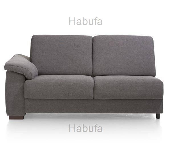 Habufa Sofas Sydney 2-Sitzer Armlehne links - verstellbar