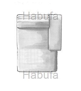 Habufa Sofas Sydney Longchair rechts