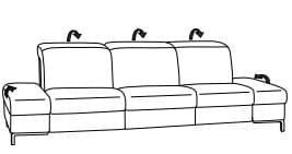 Himolla 1510 Sofa