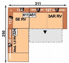 Megapol Dreamer AhoL1,5RV-SERV-3ARRV