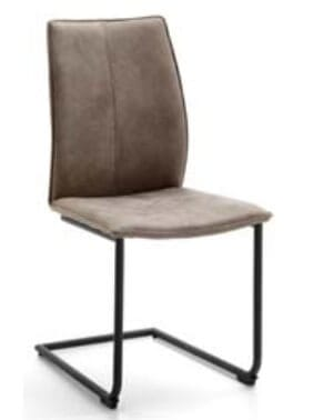 Niehoff Stühle Capri Schwingstuhlgestell Rundrohr
