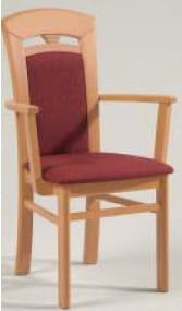 Niehoff Stühle Senator-Gold Stuhl mit Federkorb