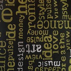 Oschmann Prestige 100 x 220 13 718000 Letters 3 grün gemustert