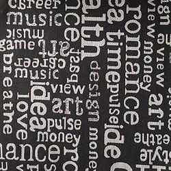 Oschmann Prestige 100 x 220 13 718200 Letters 5 schwarz gemustert
