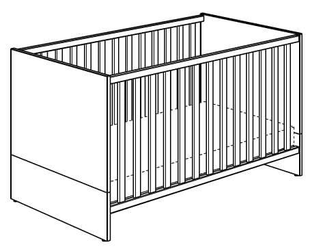 Paidi Remo Betten Kinderbett mit AIRWELL-Comfort-Rost