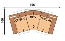 Polinova Switch-Prisca CLVL1L-MEV-1RCLVR