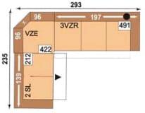 Polipol Monroe-Memphis 2SL-VZE-3VZR