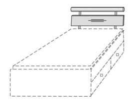 Priess Objekträume Zubehör - Kastenbett