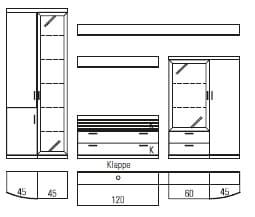 Rietberger Möbelwerke Wohnmöbel Lokano Vorschläge