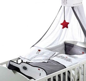 Roba Kollektion Rock Star Baby Kinderbettgarnitur