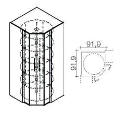 Röhr Büro Techno 019 - New York Eckregale / -schränke