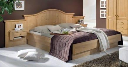 Schösswender Massivline and More - Schlafzimmer Telfs Hotel-Doppelbett
