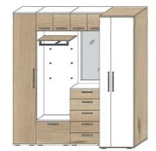 wittenbreder roubaix kombinationen n14 bis zu 50. Black Bedroom Furniture Sets. Home Design Ideas