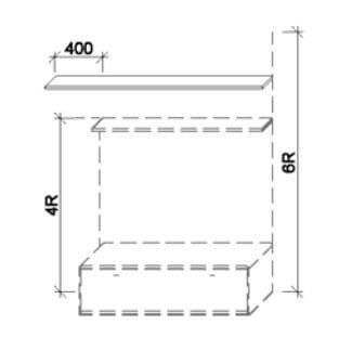 Wöstmann Wohnzimmer Bari-3000 - Walsrode Überbau-Wandboards