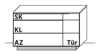 Wöstmann Wohnzimmer WM 1910 Sideboarde