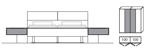 Wöstmann Schlafraum WSM 2600 Planungsvorschläge